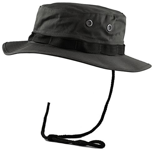 5d43d0c6b870b THE HAT DEPOT 300N1516 Premium Quality Military Boonie Hat at Amazon Men s  Clothing store