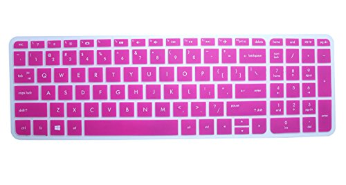"CaseBuy Keyboard Keyboard Cover Skin Protector for 2016 Newest HP Pavilion 15/15t 15.6"" Premium Laptop(NOTES: See IDENTIFY image on this listing for correct model)"
