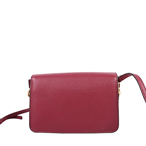 Burch Crossbody Leather McGraw in Garnet Tory Imperial tdZqxtg