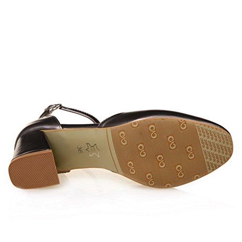 36 Sandales EU Compensées 1TO9 5 Noir Noir Femme TAxqX7