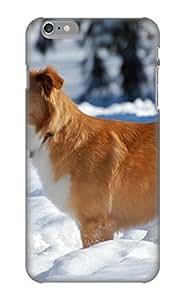 Design For Iphone 6 Plus Premium Tpu Case Cover Animal Dog Protective Case