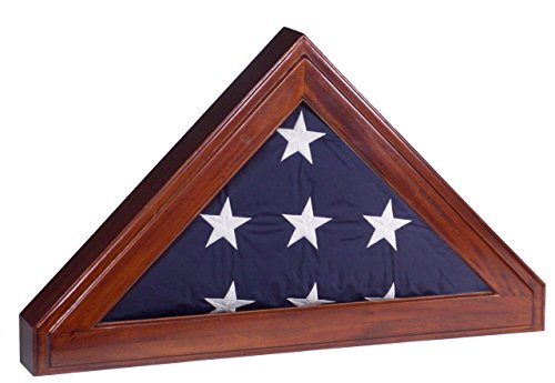 Display-Case-for-Memorial-Burial-Flag-5×9-Flag-Shadow-Box