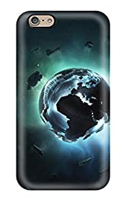 New CaseyKBrown Super Strong Pixel Earth Tpu Case Cover For Iphone 6