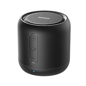 Anker SoundCore mini Enceinte Bluetooth Portable - Haut Parleur avec Autonomie de 15 Heures, Portée Bluetooth de 20 Mètres, Port Micro SD, Micro et Basses Renforcées 1