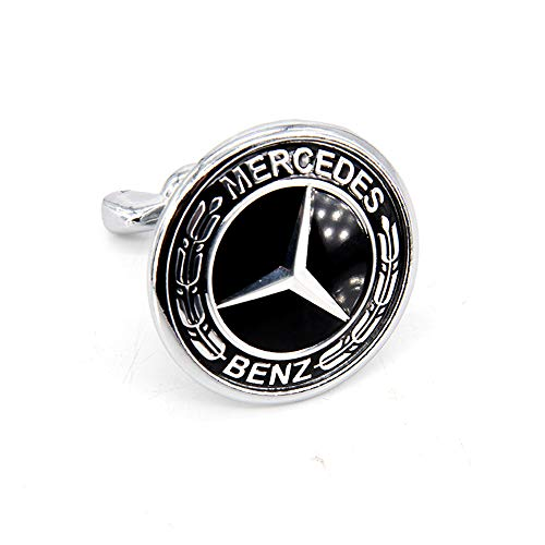 Cardiytools Car Front Hood Bonnet Emblem Badge Fit for Mercedes Benz A C E S AMG