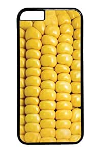Case For Iphone 5C Cover Case,Corn on the Cob PC Hard Plastic Case For Iphone 5C Cover Black BY icecream design