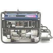 Yamaha YG6600DE 6,600 Watt 357cc OHV 4-Stroke Gas Powered Portable Generator With Electric Start (CARB Compliant)