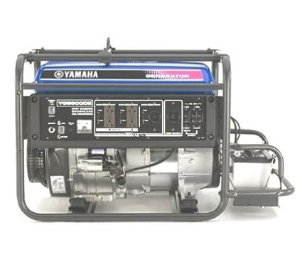 Amazon.com: Yamaha YG6600DE Generador portátil de gas con ...