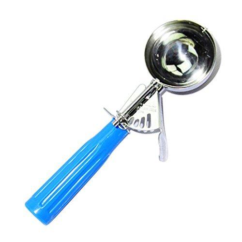 Amazon.com: eDealMax del cocinero de la cocina a la antigua Cuchara para Helado Cuchara Baller azul de la herramienta: Kitchen & Dining