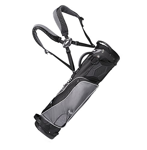 wellzher-te-sunday-v2-golf-carry-bag-non-collapsible-black-grey