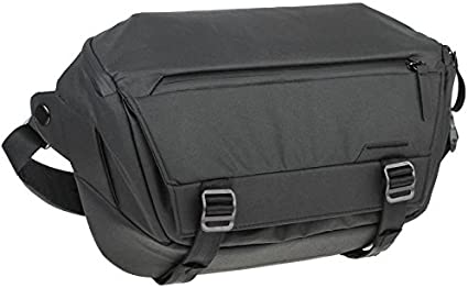 Peak Design Everyday Sling 10L Jet Black: Amazon.it: Elettronica