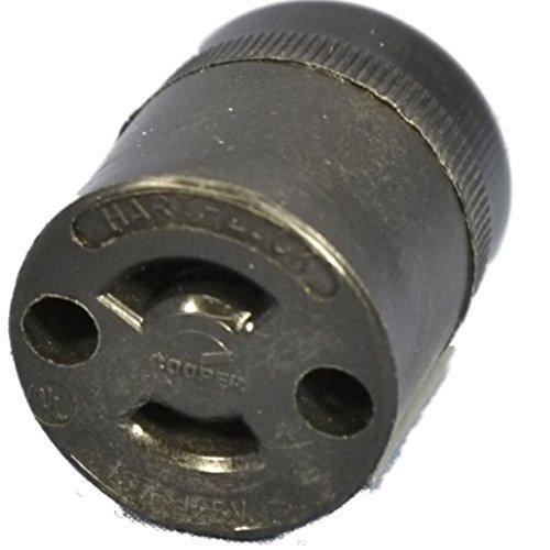 Cooper 7464N Hart-Lock ML1 Midget Twist Locking Connector Plug NEMA ML1R 15A 125 by ()