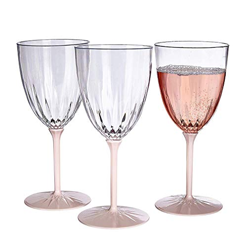 VINTAGE COLLECTION DISPOSABLE WINE GLASSES