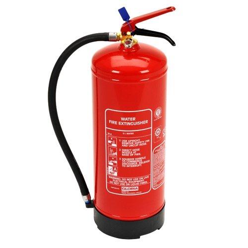 Gloria 9 Litre W9DN Water Fire Extinguisher Amazoncouk DIY Tools