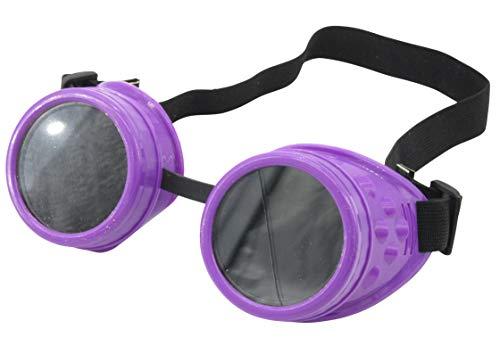 Yarizm Steampunk Goggles Cyber Welding Goth Cosplay Glasses