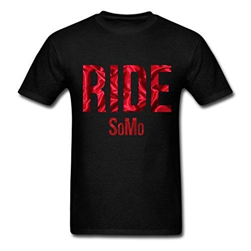 Price comparison product image Men's SoMo Ride LOGO T shirts Black XXL