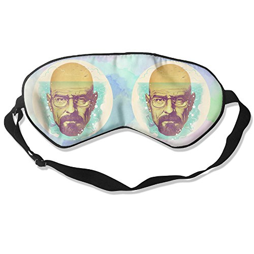 WLHZQS I Love Walter White Of Breaking Bad Natural Silk Eye Mask (without Ice Bag) ()