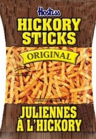 Lays 15pk Hickory Sticks Original (47g / 1.6oz per pack)
