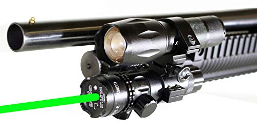 hunting light and green dot sight for stevens 320, Class IIIA 635nM Less Than - Mossberg Winchester Weatherby Browning