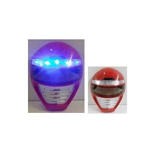 Power Rangers Kids Light Up LED Mask, Universal Size (Power Rangers Helmet)