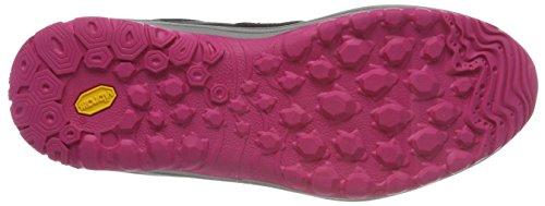 Basse Donna Scarpe Grau Bruetting Arrampicata da Pink Nero Field Schwarz 1FwqZ