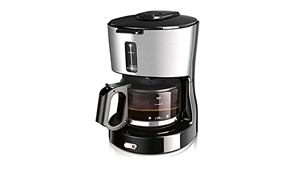 ZHAZHIJI Máquina de café, cafetera automática, casa de América, Reloj de Arena, Acero Inoxidable: Amazon.es: Hogar