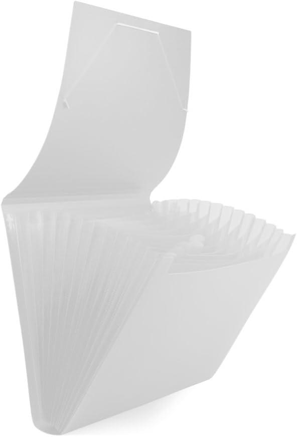 color blanco Pryse 4152003 Clasificador fuelle
