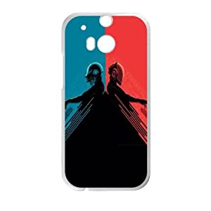 Daft Punk Red and Blue HTC One M8 Cell Phone Case White DIY TOY xxy002_868765