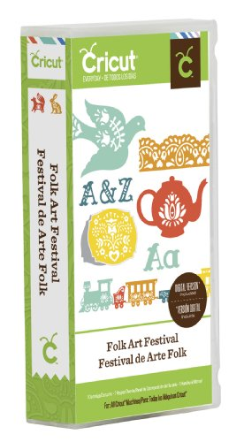 Cricut Folk Art Festival Craft Cartridge by Cricut