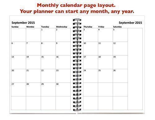 month to month calendar