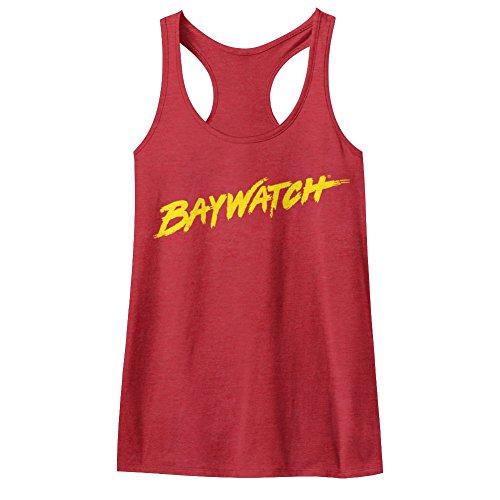 Baywatch 90's Drama Beach Patrol Lifeguard Logo Womens Tank Top Tee - Electra Tank