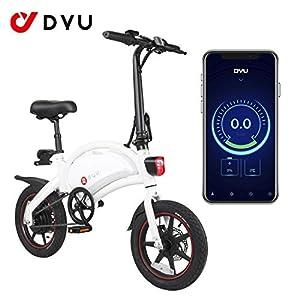 41mEWrml%2B%2BL. SS300 AmazeFan DYU Bici Elettrica Pieghevole, Mountain Bike Intelligente per Adulti, Batteria agli Ioni di Litio Rimovibile da…