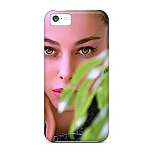 MMZ DIY PHONE CASENew Dana Lindsey Mendez Super Strong Brunette Model Tpu Case Cover For iphone 4/4s