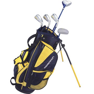 Prosimmon Icon Junior Golf Club Set & Stand Bag for kids ages 8-12 RH by Golf Outlets of America, Inc.