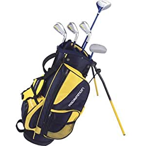 Prosimmon Icon Junior Golf Club Set & Stand Bag for kids ages 8-12 RH