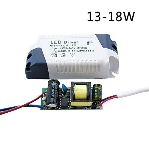 1PC/2PCS LED Driver 3W-24W Dimmable Ceilling Light Lamp Transformer Power Supply DIY (D:13-18W, 2PCS)