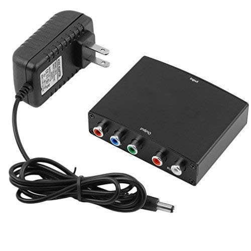 Udigital 1080P HDMI to YPbPr Component Video RGB with R+L Audio Converter
