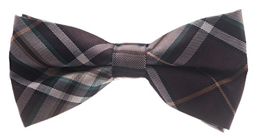 Bowtie - Brown Plaid