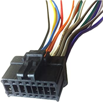 14 pin harness amazon com: pioneer fh-x731bt wiring harness plug:  everything else on pioneer
