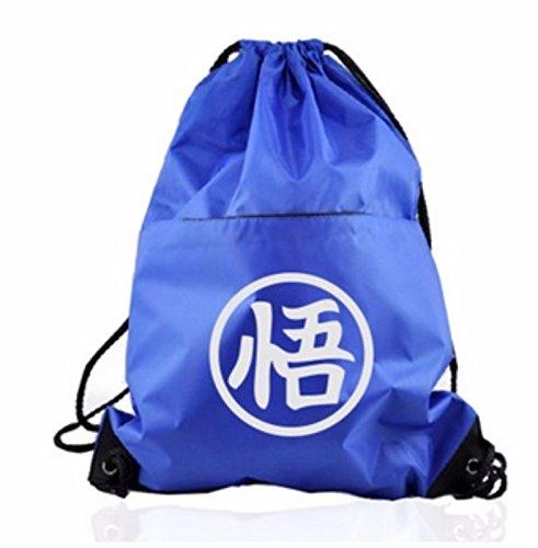 rare Schultertasche Tasche Shoulder Bag Rucksack reisetaschen Blau Weiß Dragon Ball new