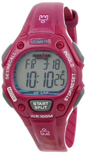 Timex Women's T5K6889J Ironman Traditional 30-Lap Baton Rouge Resin Strap Watch