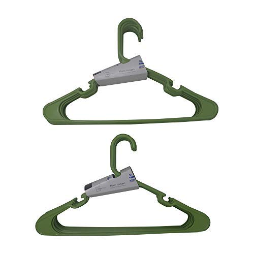 Mainstay 10-Pack Spicy Lime Plastic Hangers (Pack of 2)