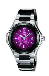 Casio MSA-501C-1AJF - Reloj para mujeres, correa de acero inoxidable color plateado