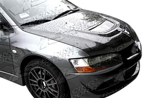 (VIS Racing (VIS-CQV-209) OEM Style Hood Carbon Fiber - Compatible for Mitsubishi EVO 8 2003-2005 (2003 2004 2005 | 03 04)