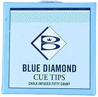 Brunswick Blue Diamond - Juego de puntas para taco de billar (13 ...