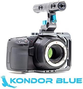 KONDOR BLUE - Half Cage Jaula para Blackmagic Pocket Cinema Camara ...