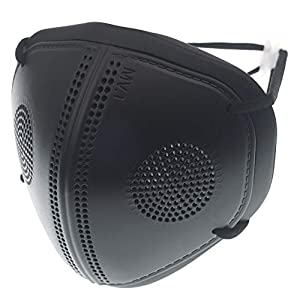Magic V Line Guard – Air Filter Guard [ Filter Replaceable ] Washable Anti Dust Breathable Earloop Face Guard