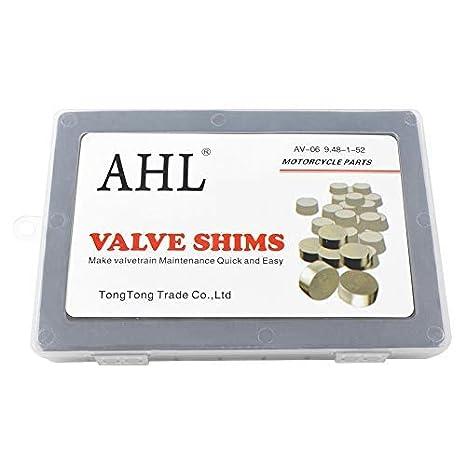 AHL 9 48mm OD 1 20mm-4 00mm Thick Adjustable Valve Shim Kit for Honda  CRF450R CRF450 R 2002-2012 (52pcs)