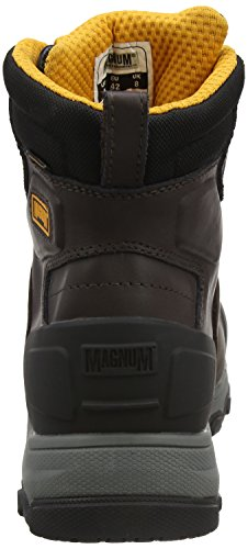 Antinfortunistiche Plate Magnum 6 Waterproof Nero Hamburg Coffee 043 Composite amp; 0 Uomo Scarpe Toe wzB6w