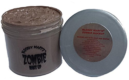 Bloody Mary F/X Zombie Paste, 0.5 Oz (Homemade Halloween Makeup Zombie)